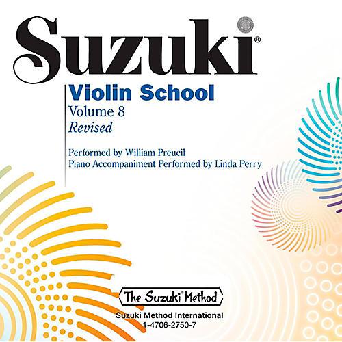 Alfred Suzuki Violin School Volume 8 CD (Revised) thumbnail