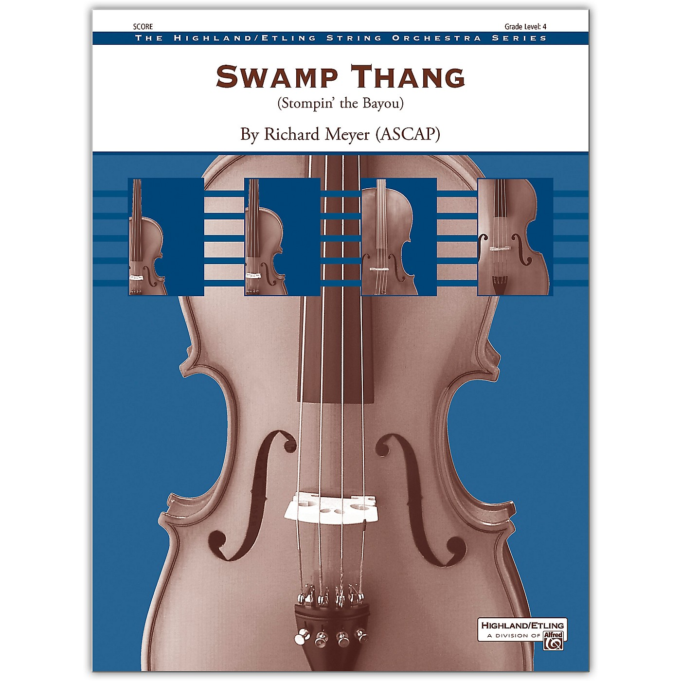 Alfred Swamp Thang Conductor Score 4 thumbnail