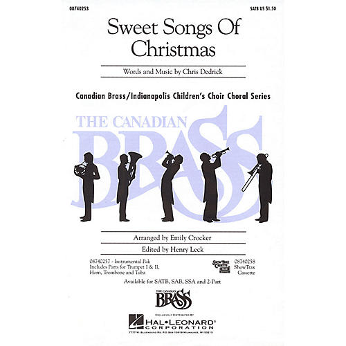 Hal Leonard Sweet Songs of Christmas IPAKB Composed by Christopher Dedrick thumbnail