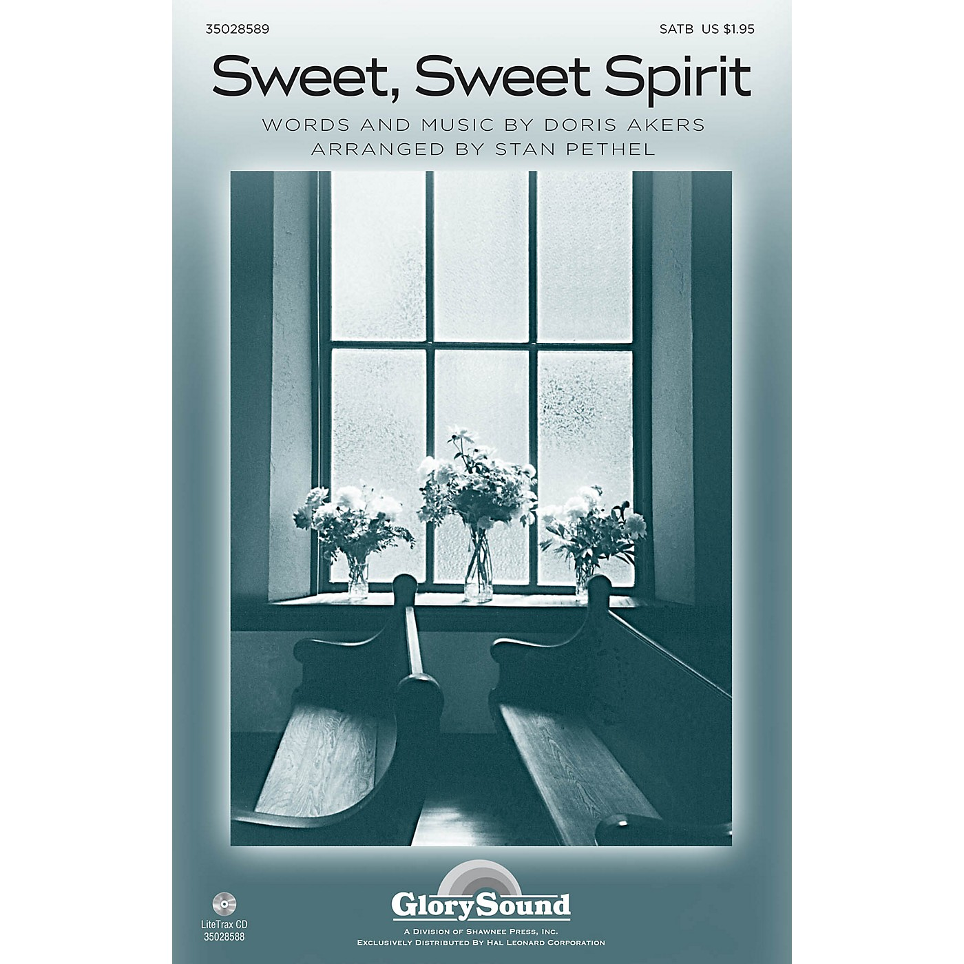 Shawnee Press Sweet, Sweet Spirit SATB arranged by Stan Pethel thumbnail