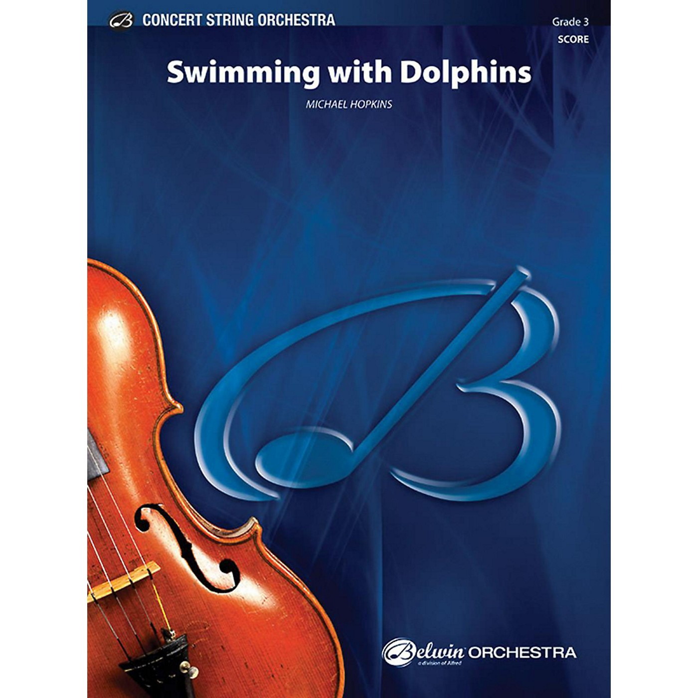 Alfred Swimming with Dolphins String Orchestra Grade 3 thumbnail