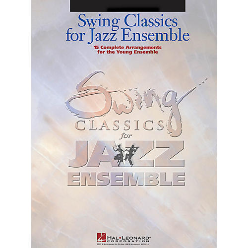 Hal Leonard Swing Classics for Jazz Ensemble - Drums Jazz Band Level 3 Composed by Various thumbnail