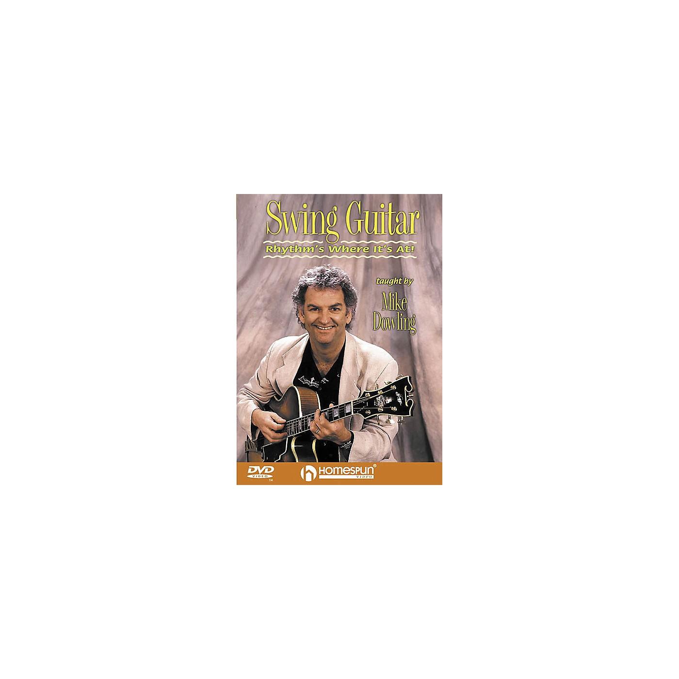Homespun Swing Guitar - Rhythm's Where It's At (DVD) thumbnail