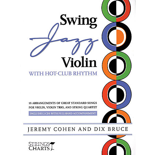 String Letter Publishing Swing Jazz Violin with Hot-Club Rhythm String Letter Publishing Softcover Audio Online by Jeremy Cohen thumbnail