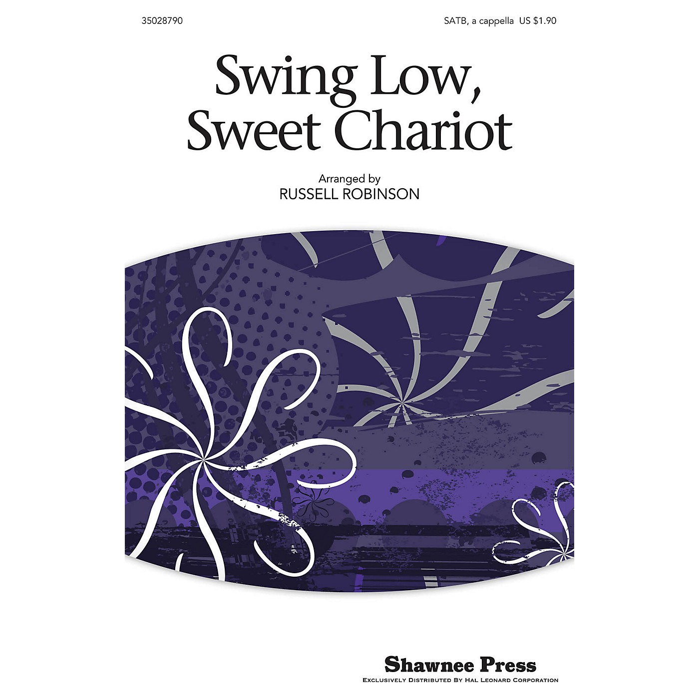 Shawnee Press Swing Low, Sweet Chariot SATB arranged by Russell Robinson thumbnail