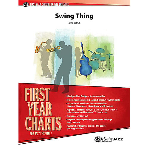 Alfred Swing Thing Jazz Band Grade 1 Set thumbnail