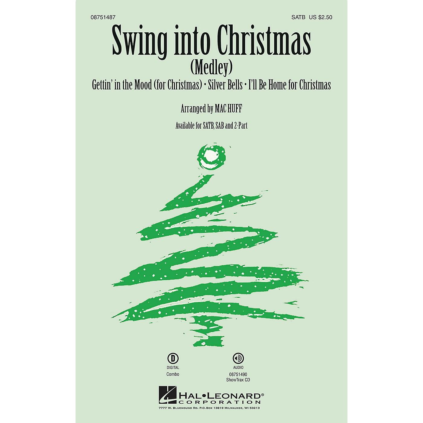 Hal Leonard Swing into Christmas SAB Arranged by Mac Huff thumbnail