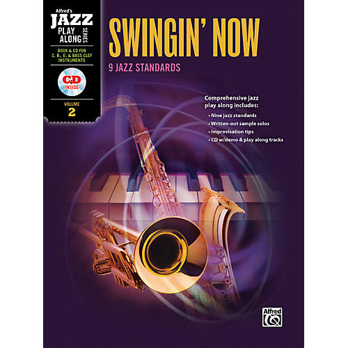 Alfred Swingin' Now Flexible Instrumentation Book & CD thumbnail