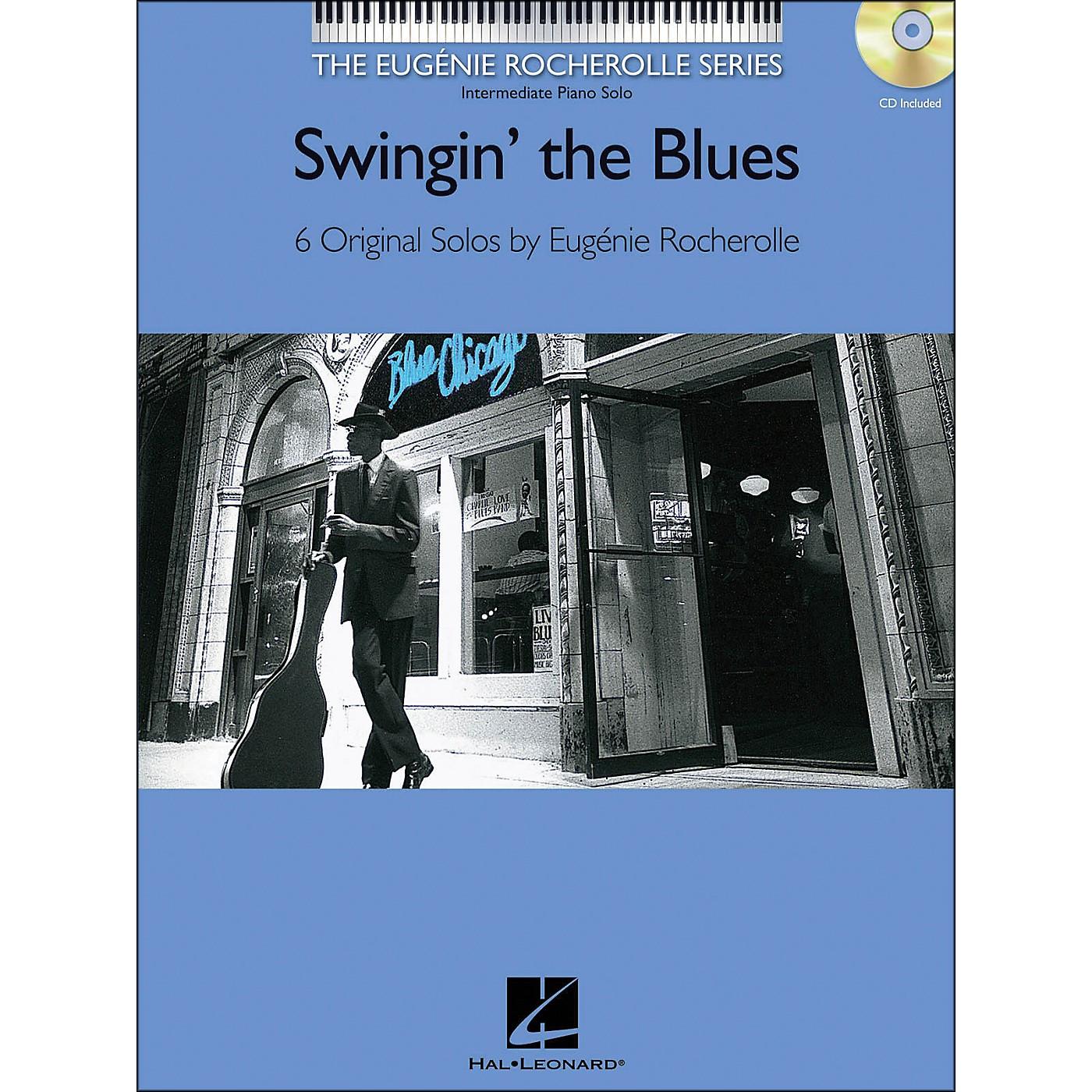 Hal Leonard Swingin' The Blues Book/CD Eugenie Rocherolle Series arranged for piano solo thumbnail