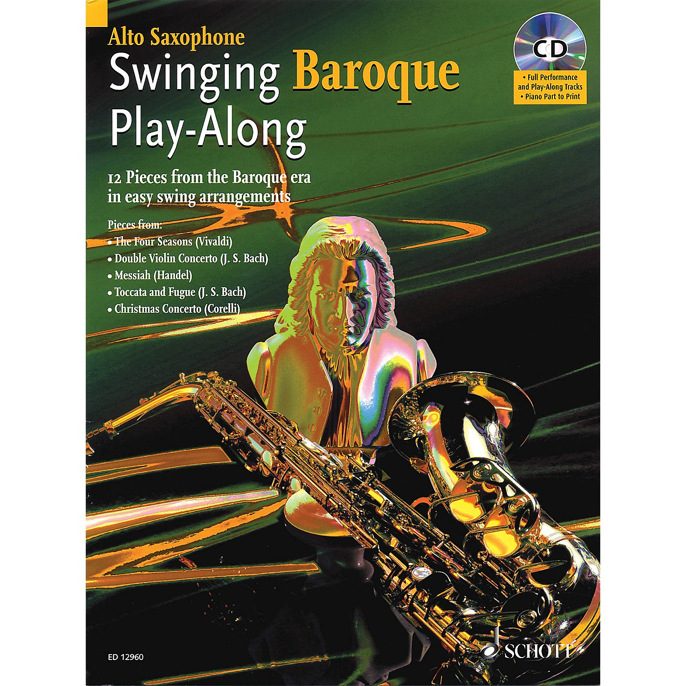Schott Swinging Baroque Play-Along Misc Series Book with CD thumbnail