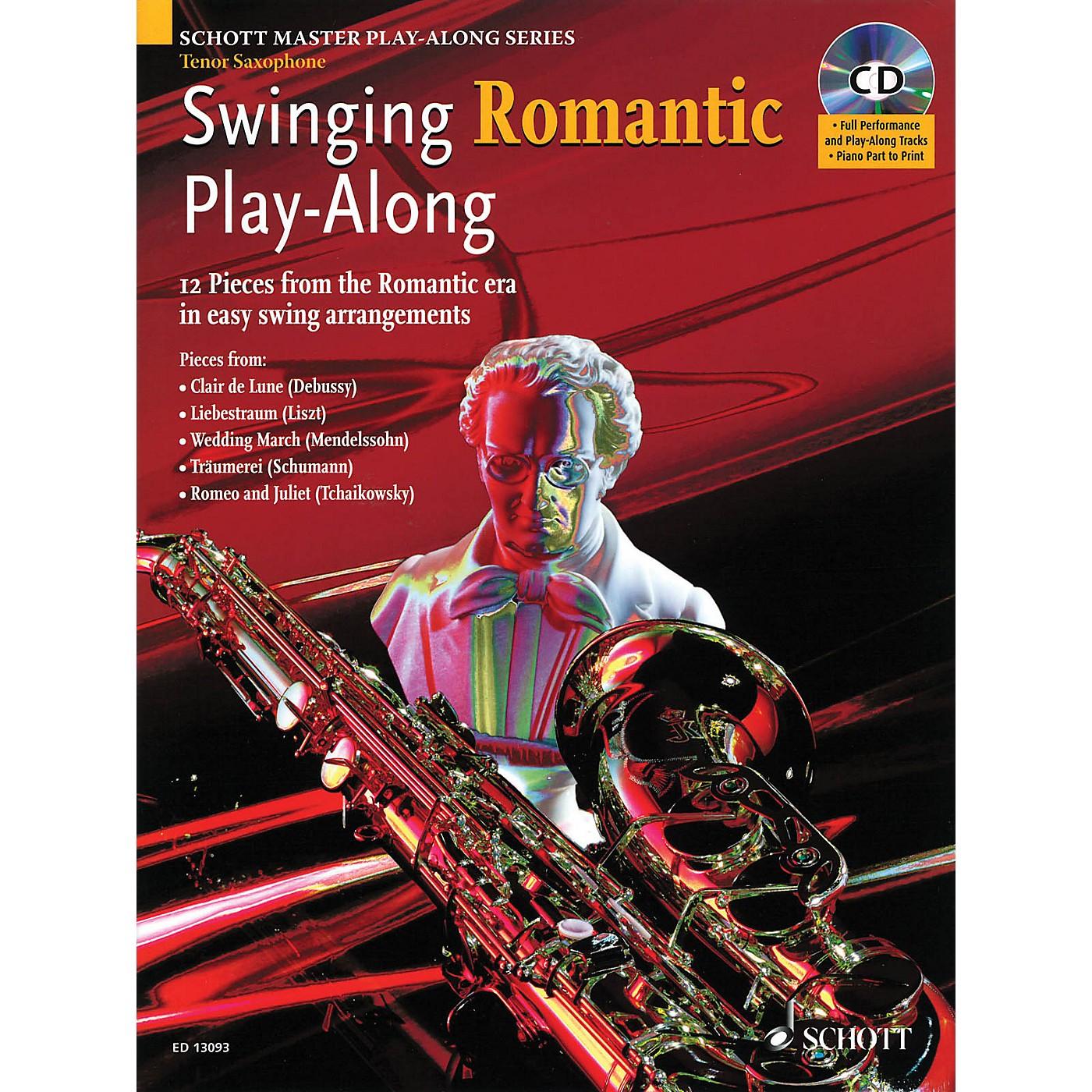 Schott Swinging Romantic Play-Along Instrumental Folio Series thumbnail