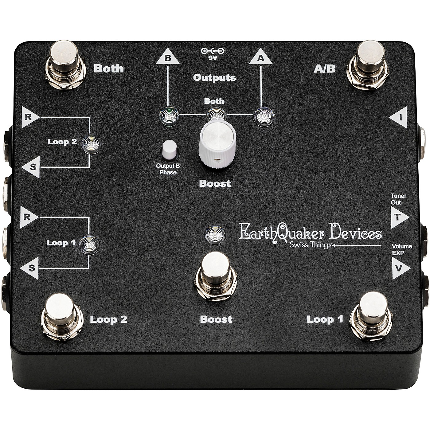 Earthquaker Devices Swiss Things Pedalboard Reconciler thumbnail