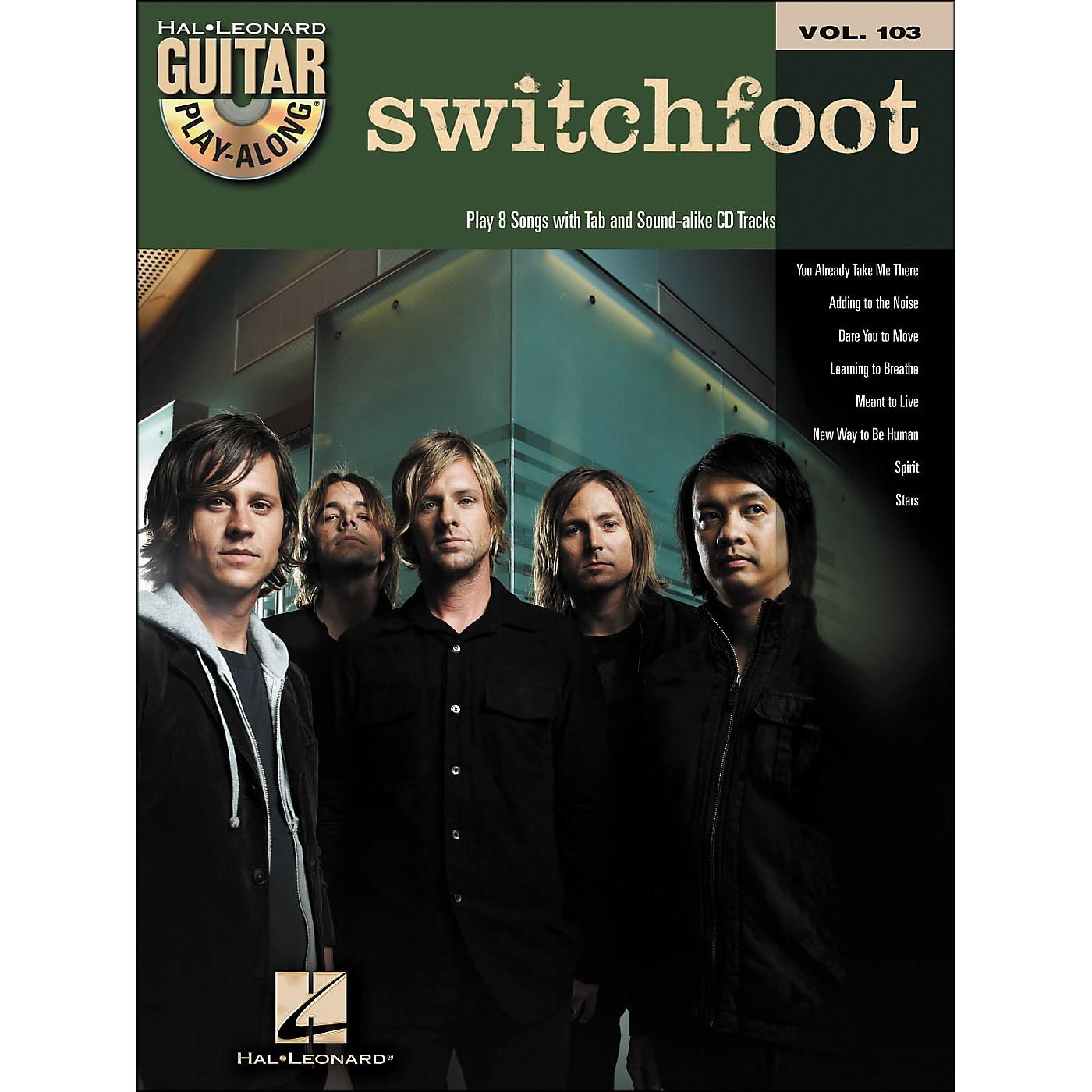 Hal Leonard Switchfoot - Guitar Play-Along Volume 103 (Book/CD) thumbnail