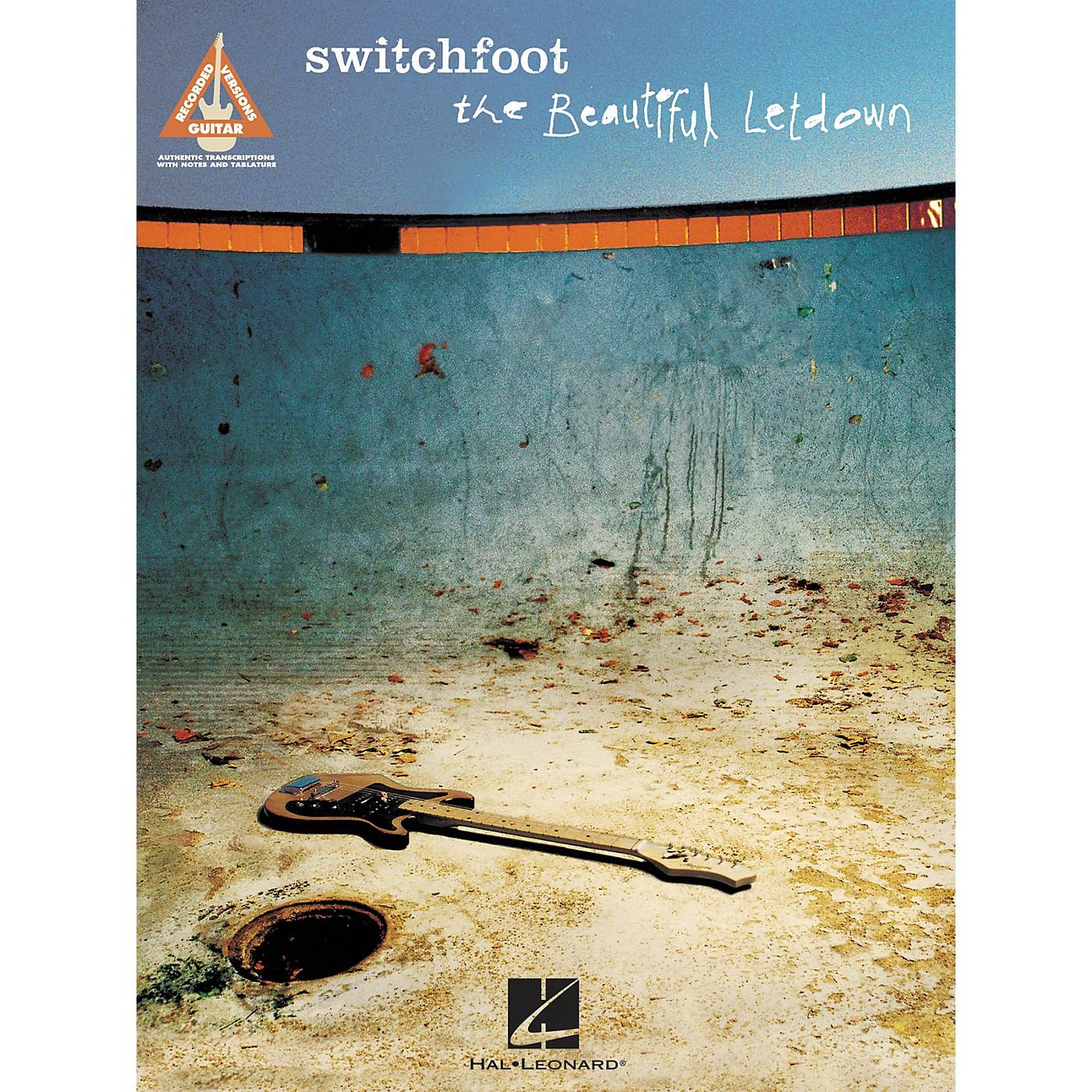 Hal Leonard Switchfoot The Beautiful Letdown Guitar Tab Songbook thumbnail