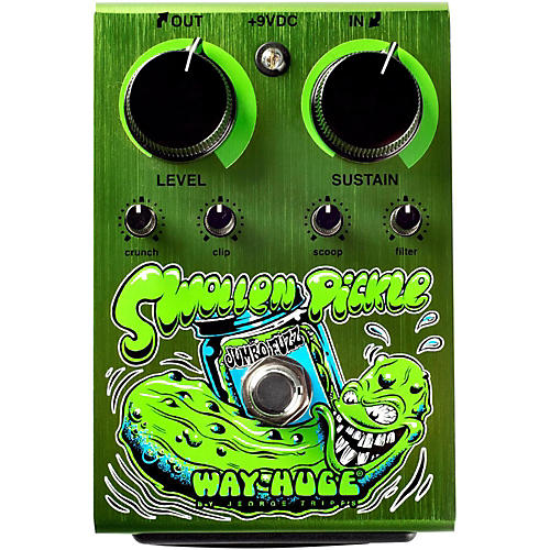 Way Huge Electronics Swollen Pickle Jumbo Fuzz Dirty Donny Edition Guitar Effects Pedal thumbnail