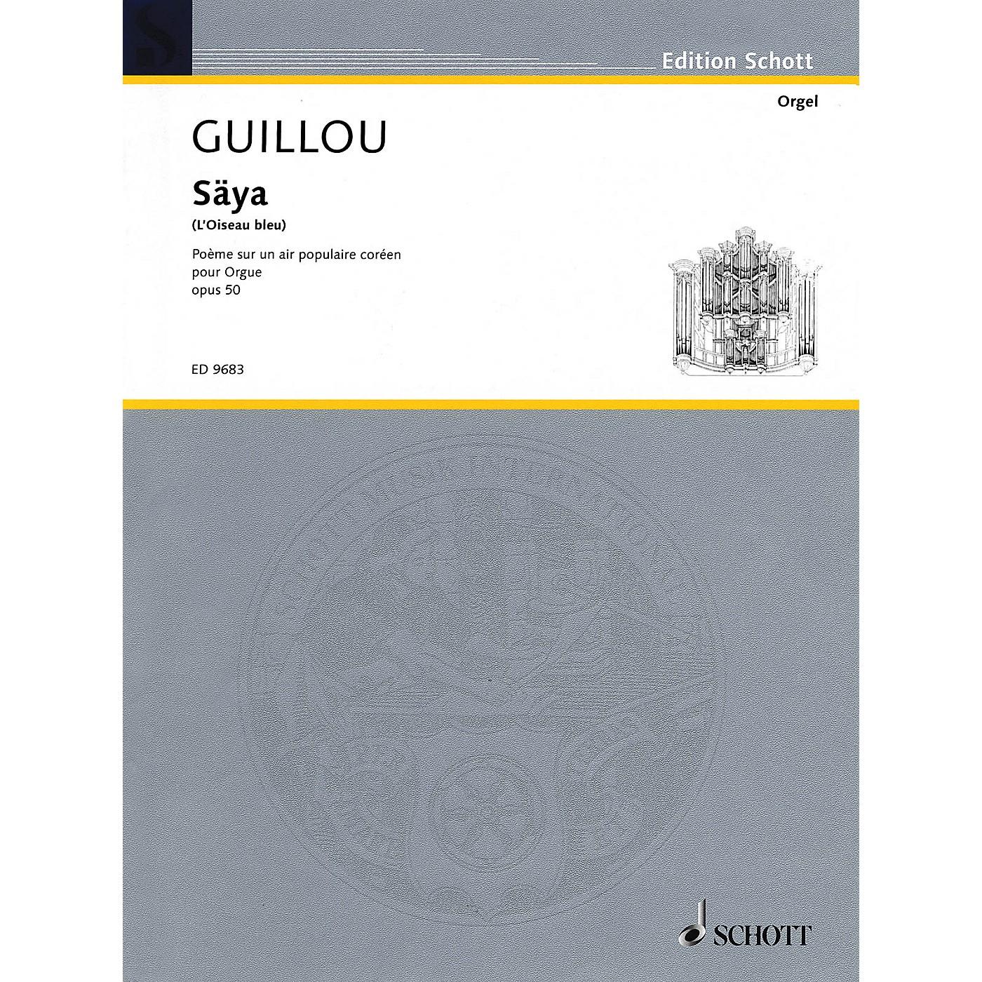Schott Säya (L'Oiseau bleu) (Poème sur un air populaire coréen) Schott Series thumbnail