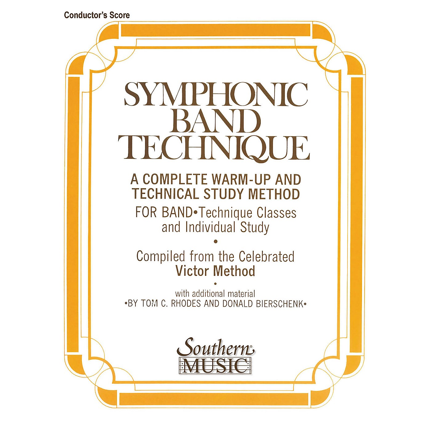 Southern Symphonic Band Technique (S.B.T.) (Conductor) Concert Band Level 3 Arranged by John Victor thumbnail