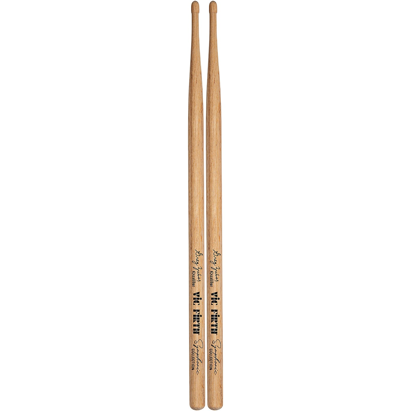Vic Firth Symphonic Collection Greg Zuber Signature Excalibur Laminated Birch Drum Sticks thumbnail