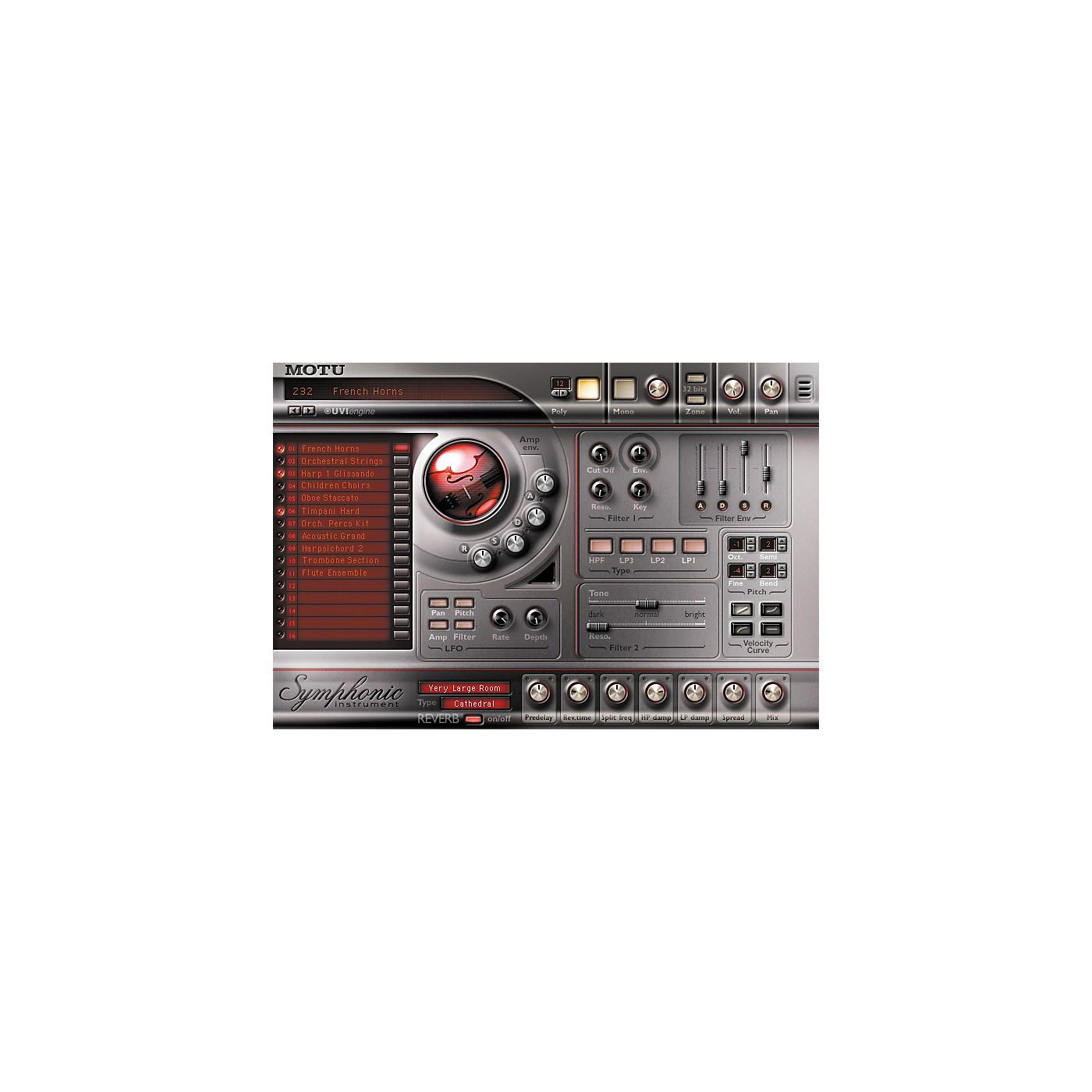 MOTU Symphonic Instrument Plug-In thumbnail