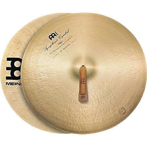 Meinl Symphonic Medium Cymbal Pair-thumbnail