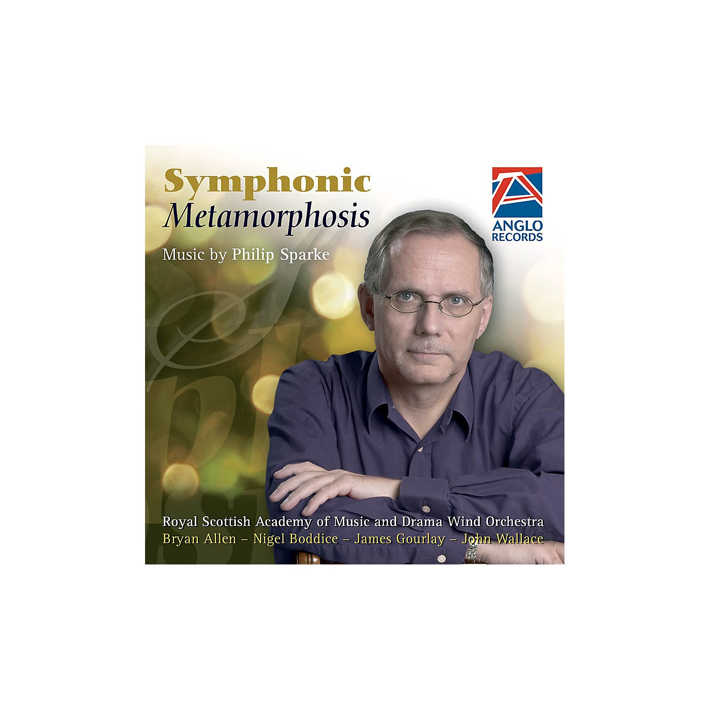 Anglo Music Press Symphonic Metamorphosis (Anglo Music Press CD) Concert Band Composed by Philip Sparke thumbnail