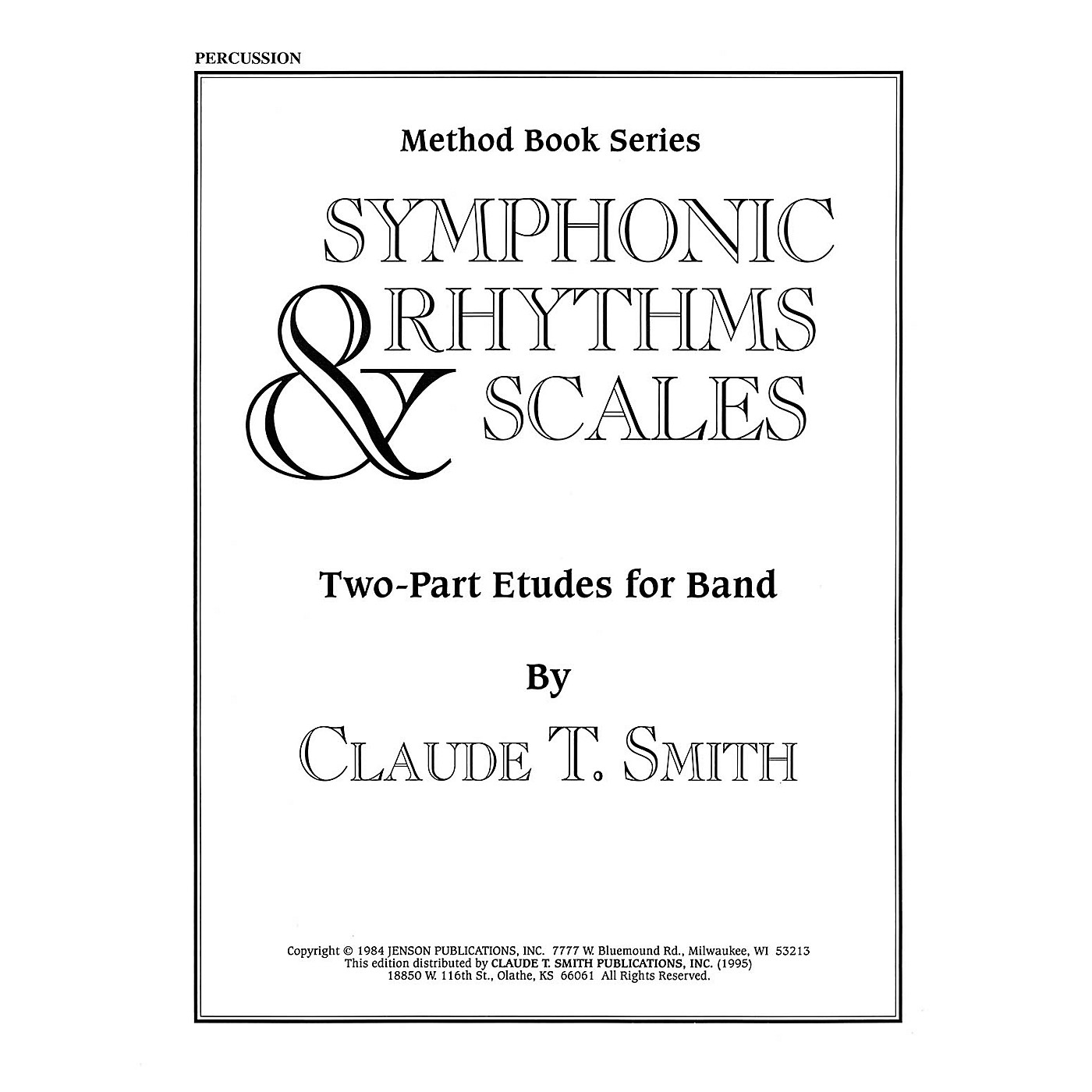 Hal Leonard Symphonic Rhythms & Scales (Two-Part Etudes for Band and Orchestra Percussion) Concert Band Level 2-4 thumbnail