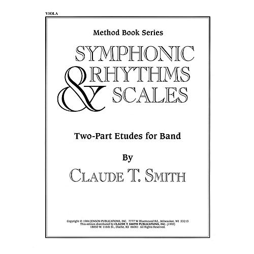 Hal Leonard Symphonic Rhythms & Scales (Two-Part Etudes for Band and Orchestra Viola) Concert Band Level 2-4 thumbnail