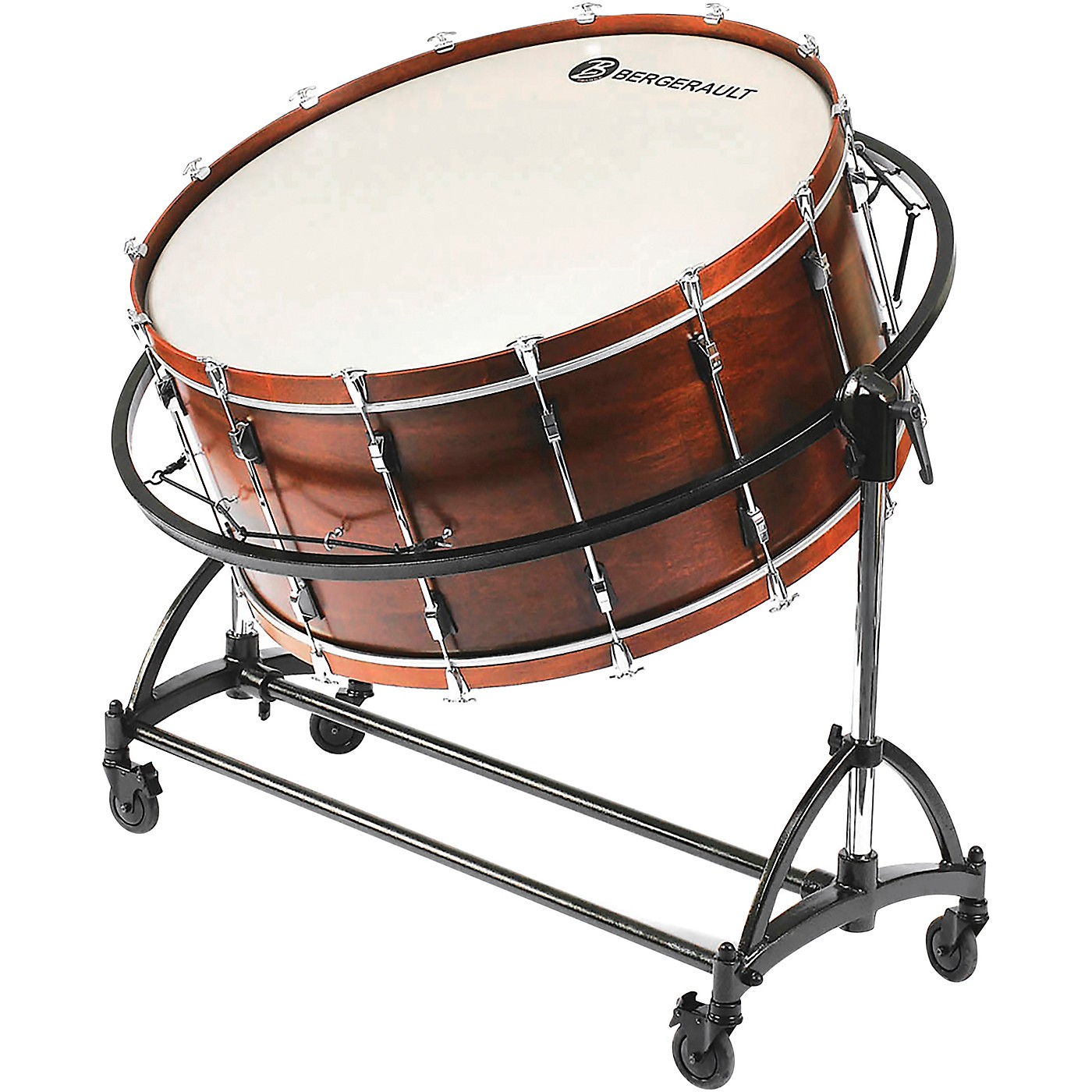 """Bergerault Symphonic Series Bass Drum, 36x22"""" With Suspension Stand thumbnail"""