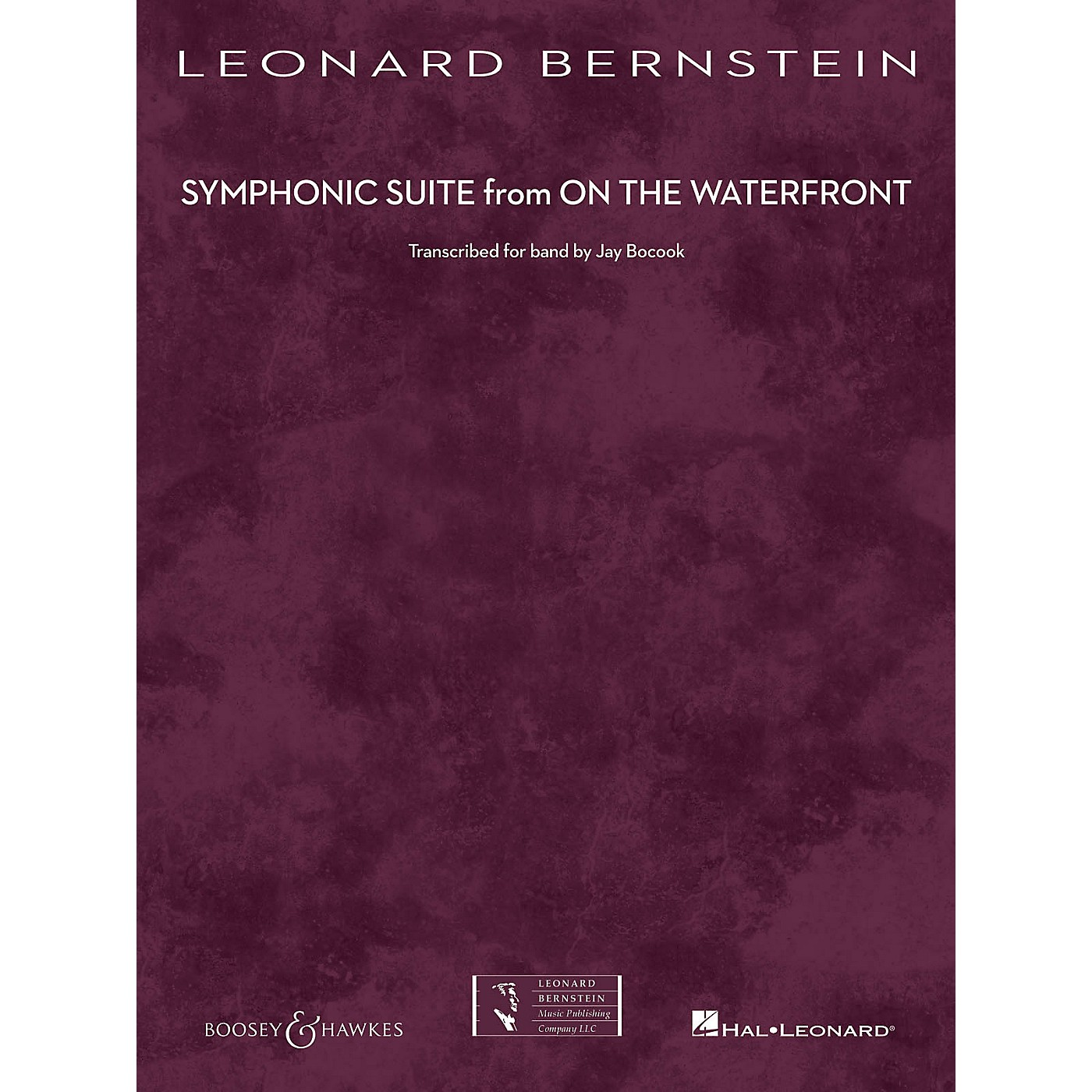 Boosey and Hawkes Symphonic Suite from On the Waterfront Concert Band Level 5 by Leonard Bernstein Arranged by Jay Bocook thumbnail