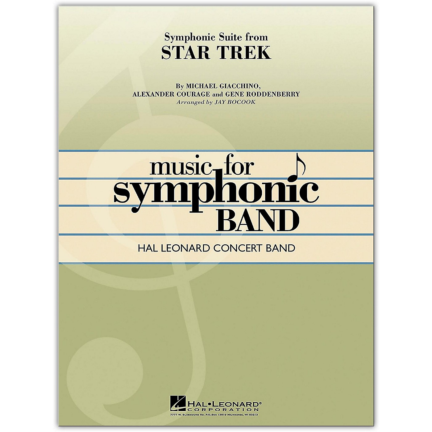 Hal Leonard Symphonic Suite from Star Trek Concert Band Level 4 thumbnail