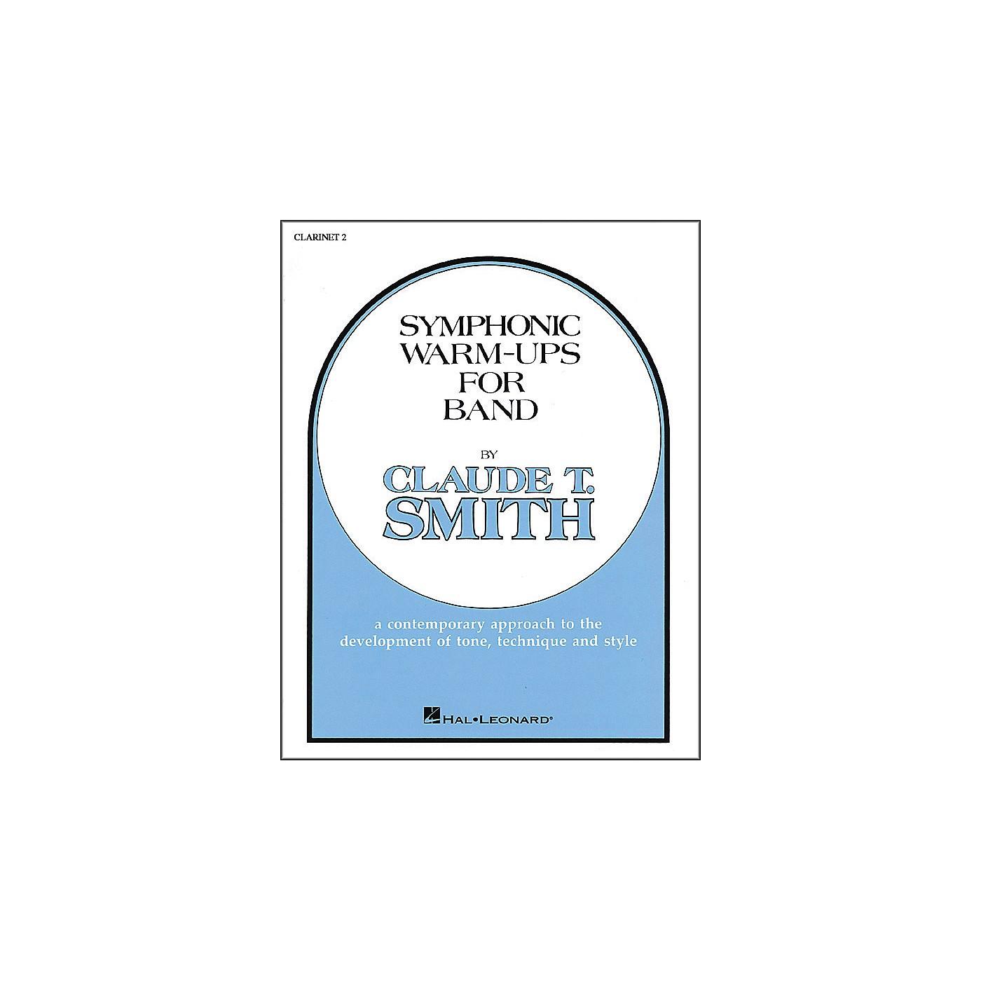 Hal Leonard Symphonic Warm-Ups For Band For B Flat Clarinet 2 thumbnail