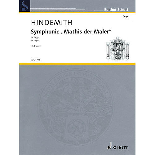 Schott Symphonie Mathis der Maler Schott Series Softcover Composed by Paul Hindemith thumbnail