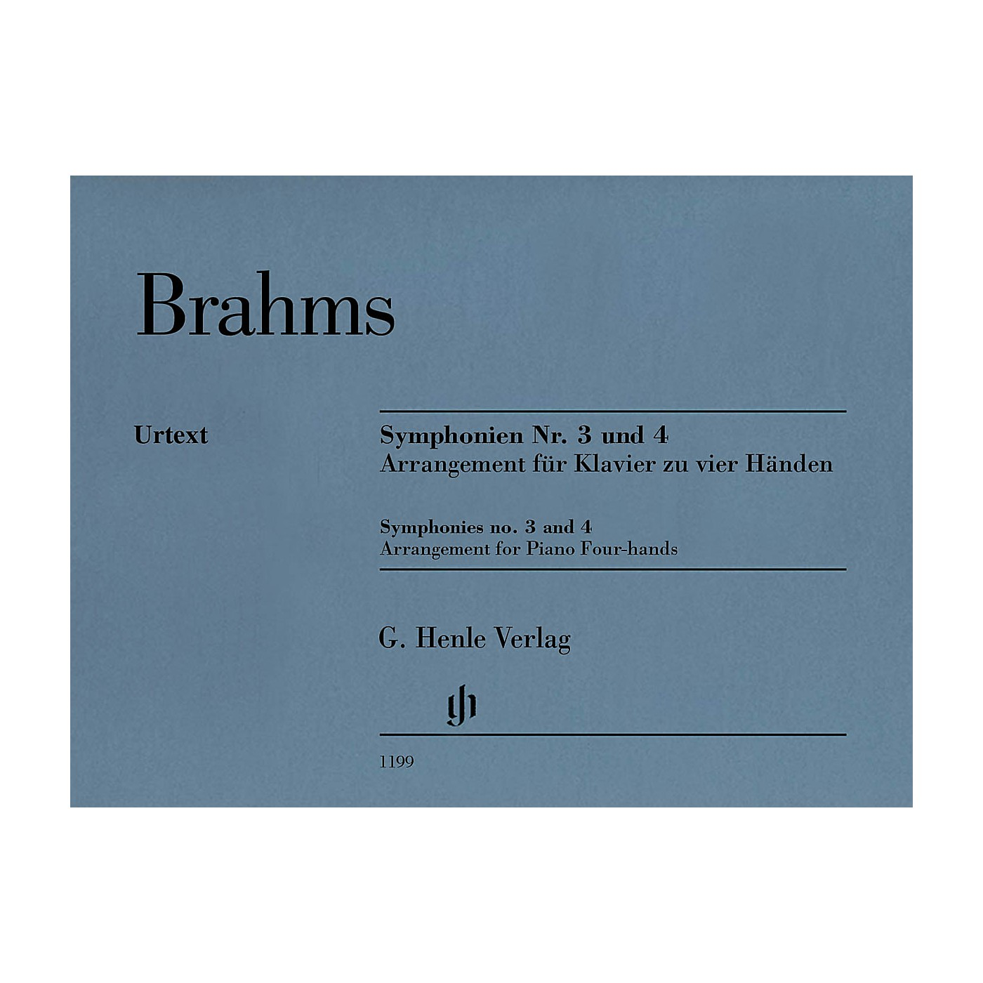 G. Henle Verlag Symphonies No. 3 and 4 Henle Music Folios Series Softcover thumbnail
