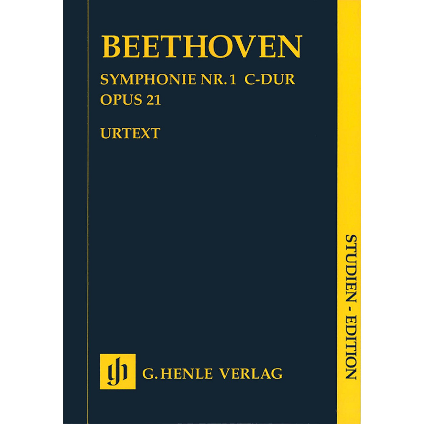 G. Henle Verlag Symphony C Major Op. 21, No. 1 (Study Score) Henle Study Scores Series Softcover by Ludwig van Beethoven thumbnail