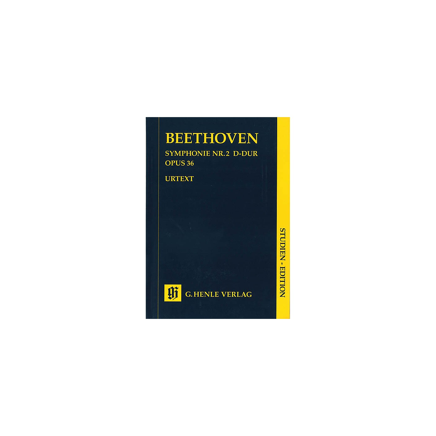 G. Henle Verlag Symphony D Major Op. 36, No. 2 (Study Score) Henle Study Scores Series Softcover by Ludwig van Beethoven thumbnail