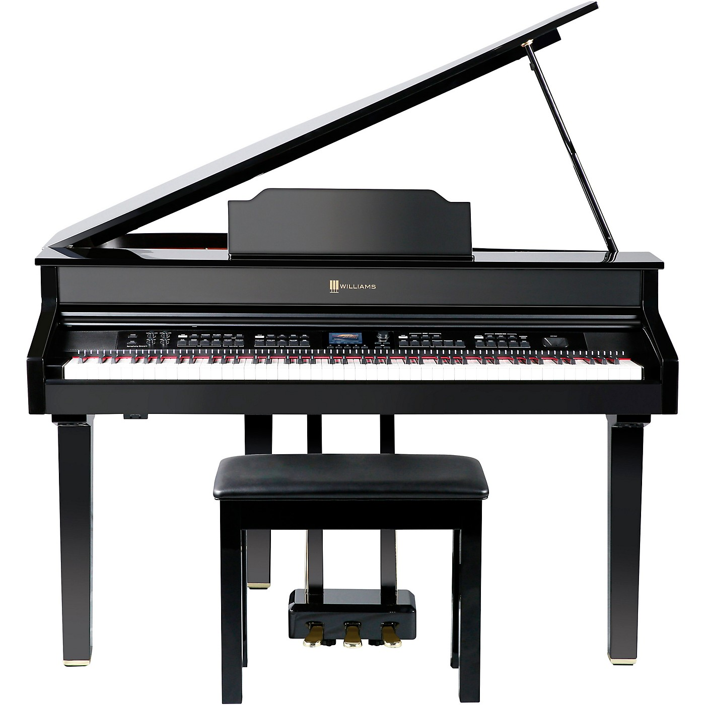 Williams Symphony Grand II Digital Micro Grand Piano With Bench thumbnail
