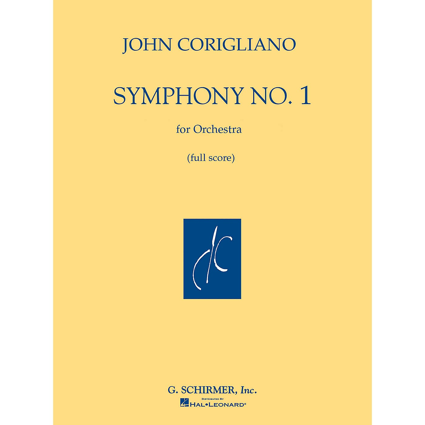 G. Schirmer Symphony No. 1 (Full Score) Study Score Series Composed by John Corigliano thumbnail