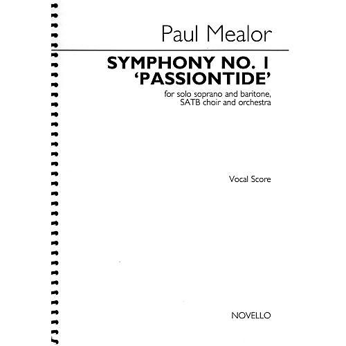 Novello Symphony No. 1 'Passiontide' SATB Score Composed by Paul Mealor thumbnail
