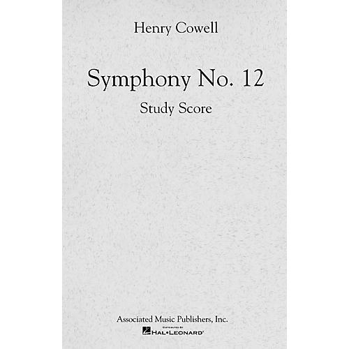 Associated Symphony No. 12 (Full Score) Study Score Series Composed by Henry Cowell thumbnail