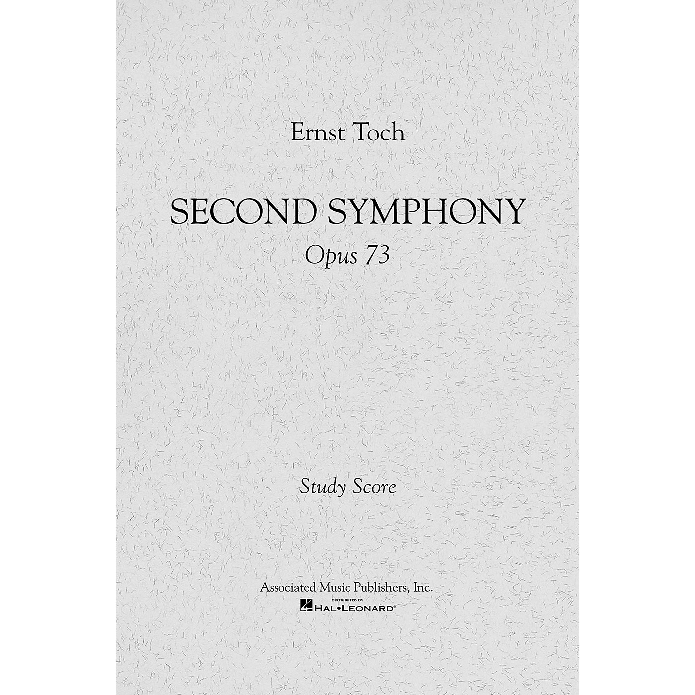 Associated Symphony No. 2, Op. 73 (Full Score) Study Score Series Composed by Ernst Toch thumbnail