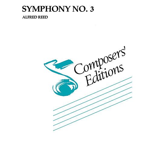Hal Leonard Symphony No. 3 Concert Band Level 5 Composed by Alfred Reed thumbnail