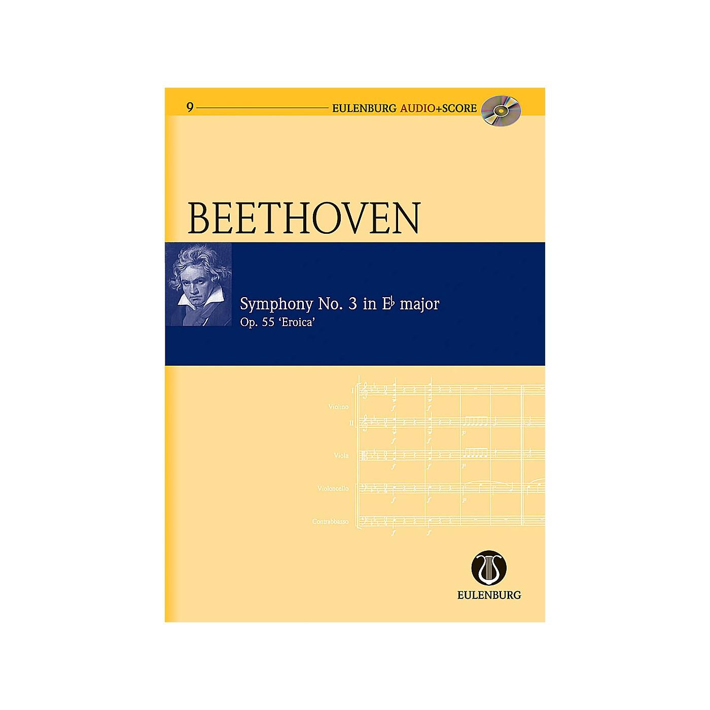 Eulenburg Symphony No. 3 in E-flat Major Op. 55 Eroica Symphony Eulenberg Audio plus Score by Ludwig van Beethoven thumbnail