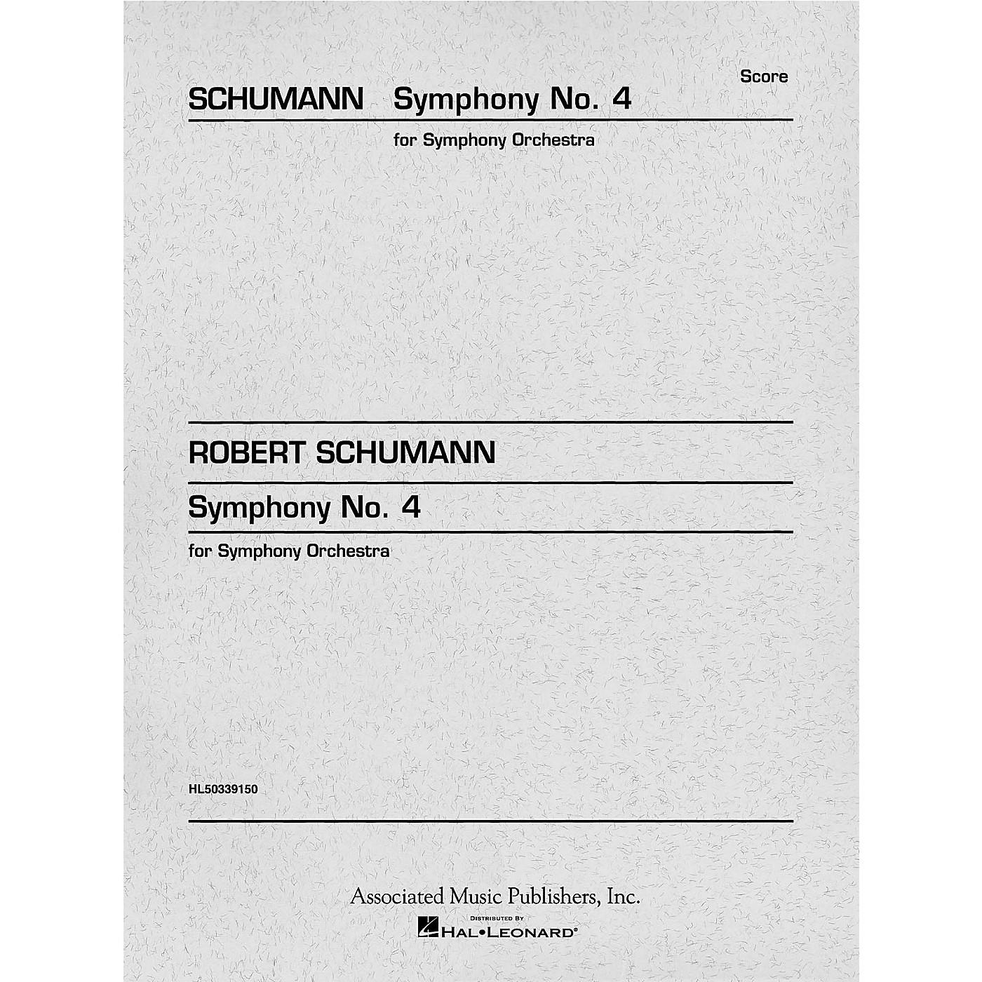 G. Schirmer Symphony No. 4 in D minor, Op. 120 (Study Score No. 159) Study Score Series Composed by Robert Schumann thumbnail