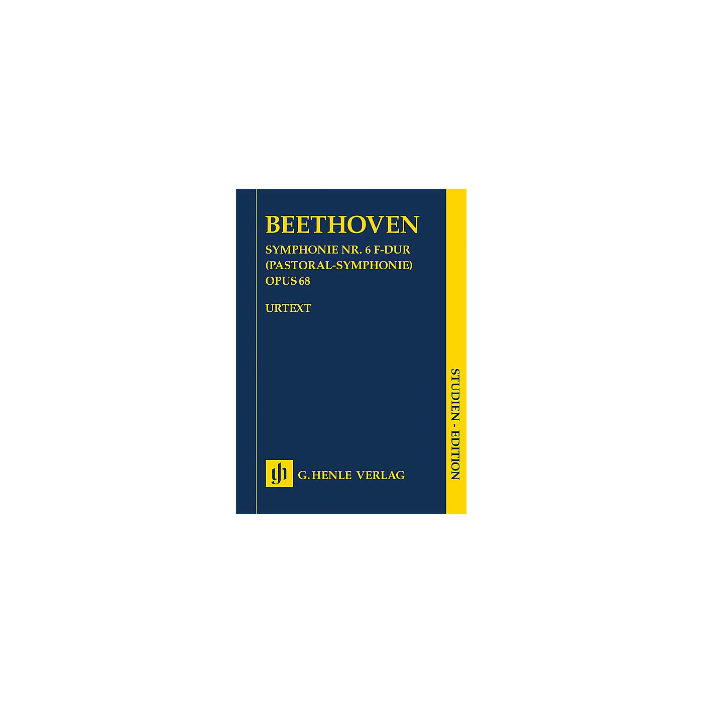 G. Henle Verlag Symphony No. 6 in F Major, Op. 68 (Pastoral Symphony) Henle Study Scores by Beethoven Edited by Dufner thumbnail