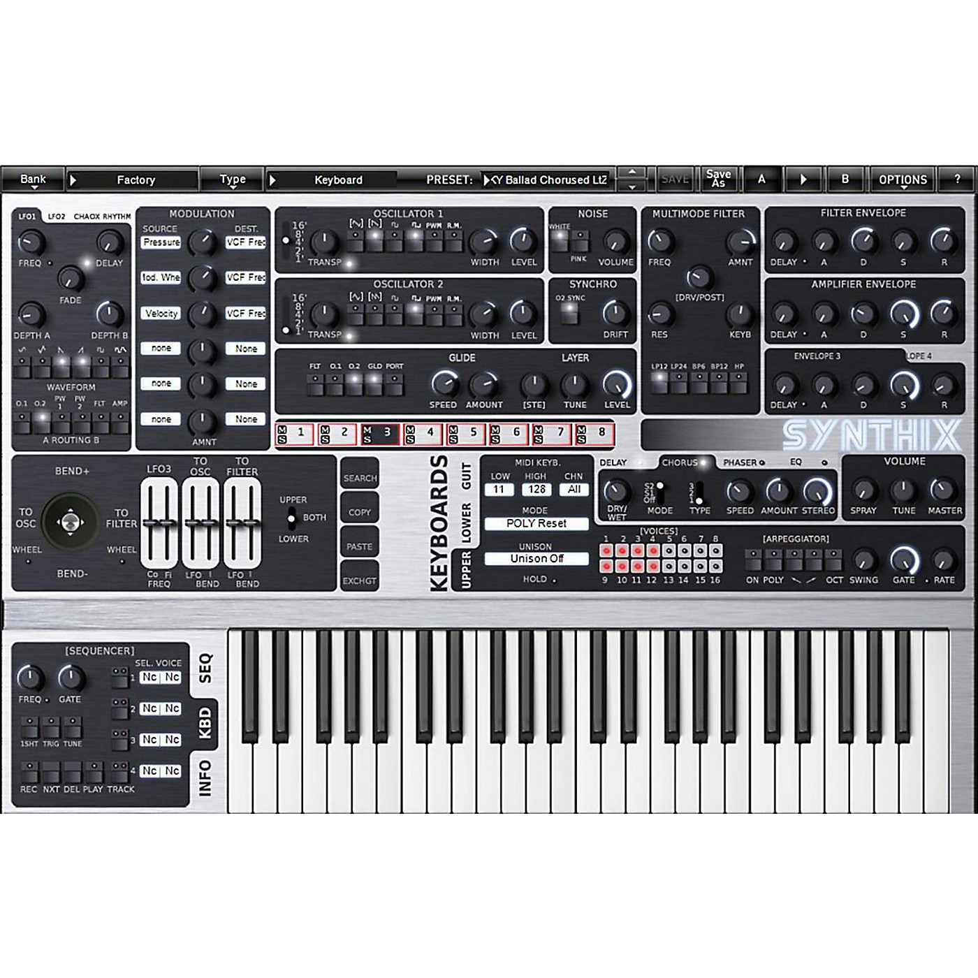 XILS lab Syn'X Multilayer Analog Synthesizer Software Download thumbnail