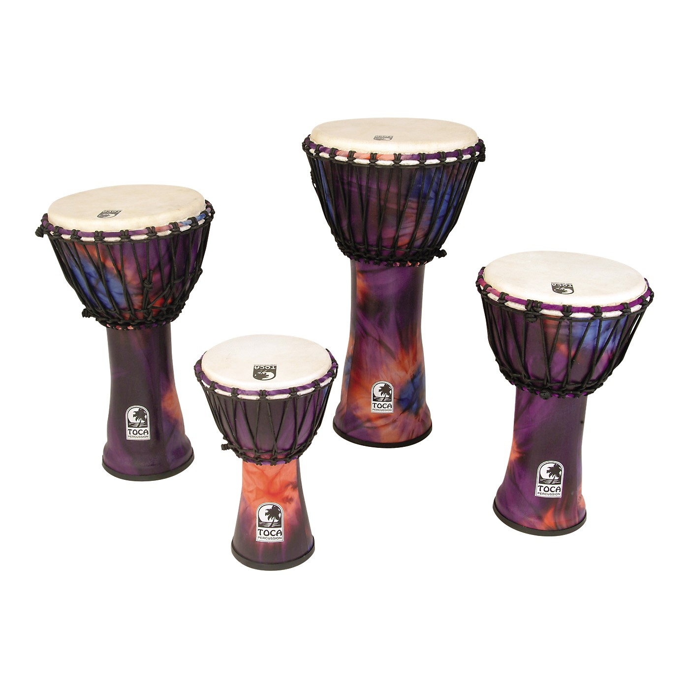 Toca Synergy Freestyle Rope Tuned Djembe thumbnail