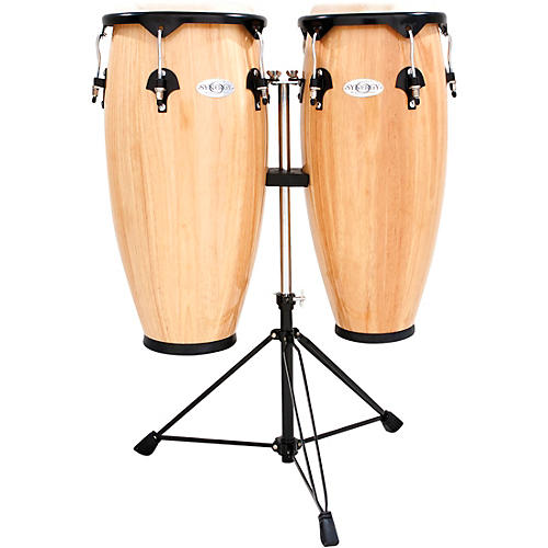 Toca Synergy Wood Conga Set With Stand thumbnail