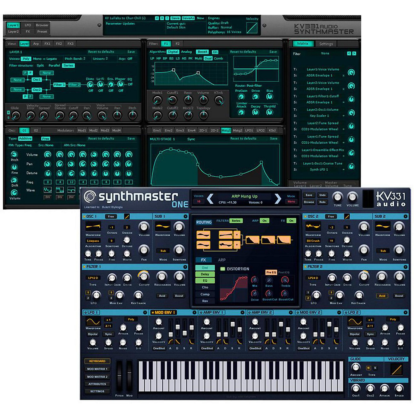 KV331 Audio SynthMaster 1+2 Bundle thumbnail