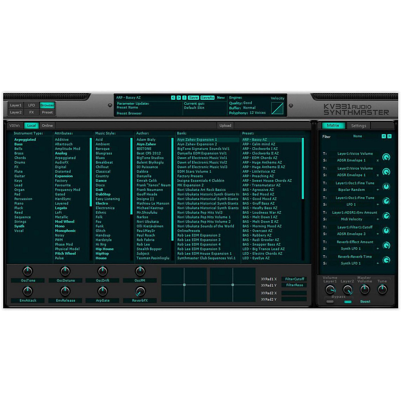 KV331 Audio SynthMaster Bundle Upgrade from SynthMaster Standard thumbnail