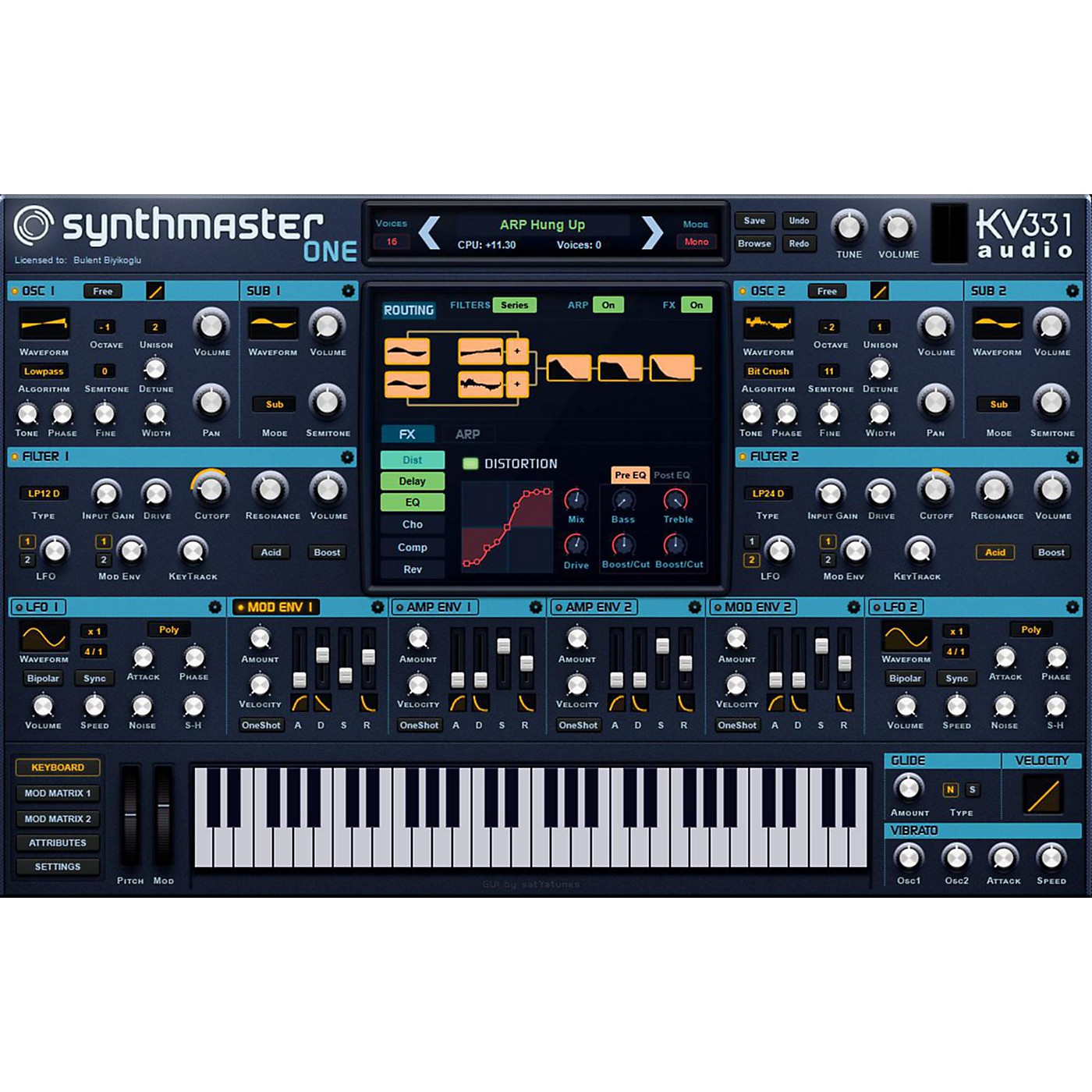 KV331 Audio SynthMaster One Crossgrade from SynthMaster Player thumbnail